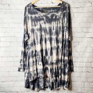 Mumu Mellow | Long Sleeve Will Tunic Tie Dye